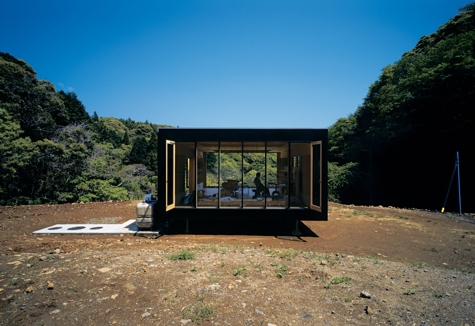 Architect Tadashi Murai designed this remote retreat for a Tokyo transplant who abandoned his corporate existence. Japanese Homes by Dwell