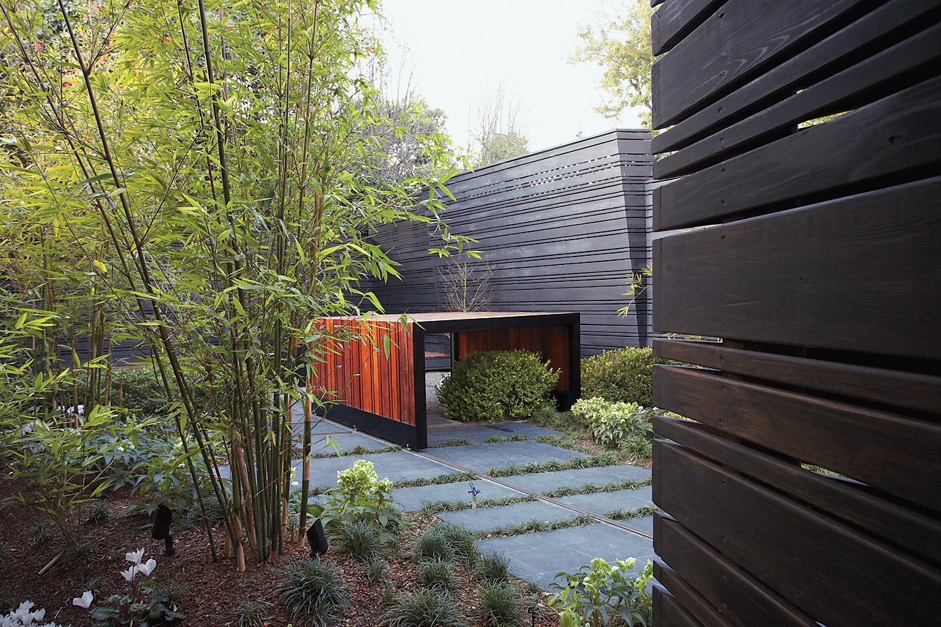 Compelling custom solutions to off-the-shelf problems are often hard to come by. For their design of an ipe-clad hot tub, The American Society of Landscape Architects gave Lord and Wyllie's firm, Surfacedesign, a Residential Design Honor Award.  Photo 4 of 4 in Stoked to Soak