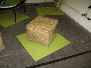 London Design Festival: Straw Bale Seat - Photo 1 of 1 -