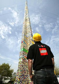World's Tallest Lego Tower - Photo 1 of 2 -