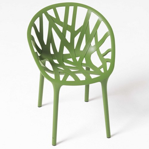 Inspired by age-old techniques of bending tree branches into functional shapes over the course of their slow growth, the Bouroullecs designed their Vegetal Chair to mirror the asymmetry and organic basket-style of woven branches.  Photo 1 of 1 in The Vegetal Chair