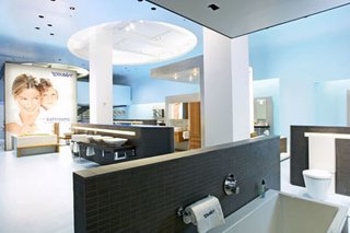Blue Monday: Duravit Showroom Opens in NYC - Photo 1 of 3 -