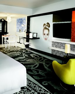 Wanders' Walls: Miami Beach's Newest Hotel is the Mondrian South Beach - Photo 1 of 1 -