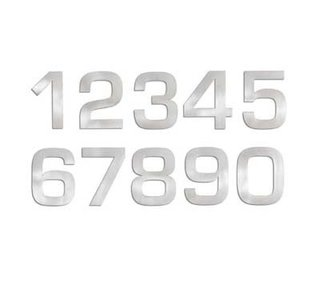 Modern House Numbers - Photo 4 of 6 -