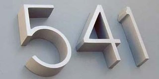 Modern House Numbers - Photo 5 of 6 -