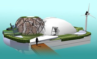 Waterpod: A Nomad Habitation for the Climate Changed Future
