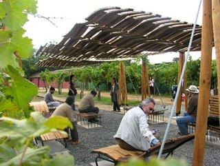 Chilean Wine Barrel Breezeway - Photo 1 of 1 -