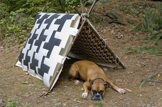 Houndstooth Dogtent - Photo 1 of 1 -