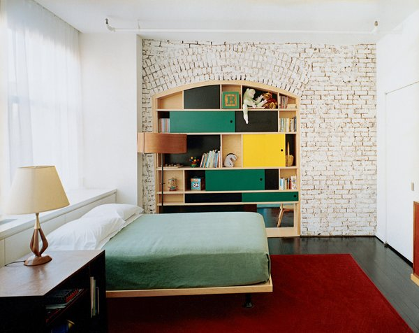 Clever Details Increase Property Value<br><br>Doing something unique can increase a home's resale value, like this paneled nook installed by New York–based architectural design-build firm MADE.