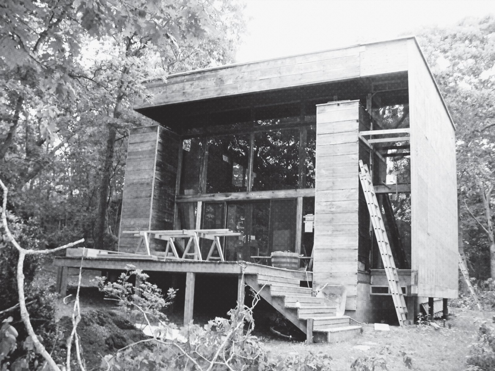 The exterior, shown in a 1970 photograph.  Photo 16 of 17 in Long Island Summer Home Gets a Modern Addition