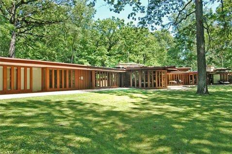 Edward Humrich 1960 house, Chicago Bauhaus and Beyond