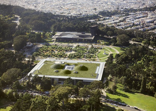 California Academy of Sciences by Renzo Piano Workshop in collaboration with Stantec Architecture and Arup<br><br>Merit Award winner for Excellence in Architecture