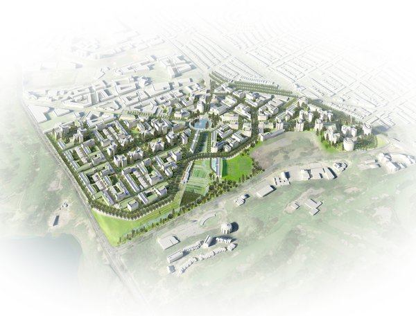 Parkmerced Vision Plan by Skidmore, Owings & Merrill<br><br>Honor Award for Urban Design
