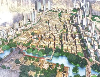 Foshan Donghuali Master Plan by Skidmore, Owings & Merrill<br><br>Honor Award for Urban Design