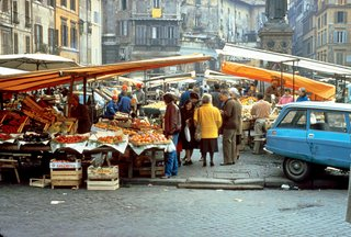 Investing in the Market - Photo 2 of 3 - A market in Rome. Rather than imposing markets upon communities, PPS works carefully to create spaces based on locals' needs.