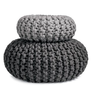 Flocks Pouf by Christien Meindertsma for Design Within Reach