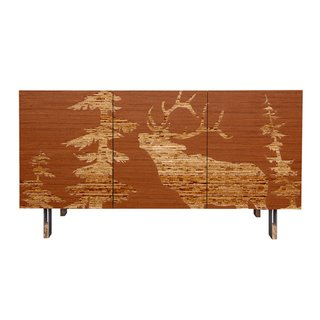 Kyle Schuneman on Masculine Design - Photo 4 of 4 - Mod Lodge Sideboard by Iannone.