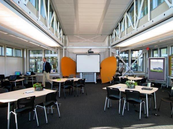 Interior shot of the FROG Zero debut model at Greenbuild in Boston