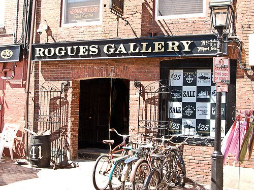 The facade of Rogues Gallery.
