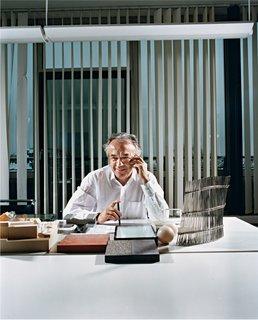 Werner Sobek - Photo 16 of 22 - Werner Sobek in his office.