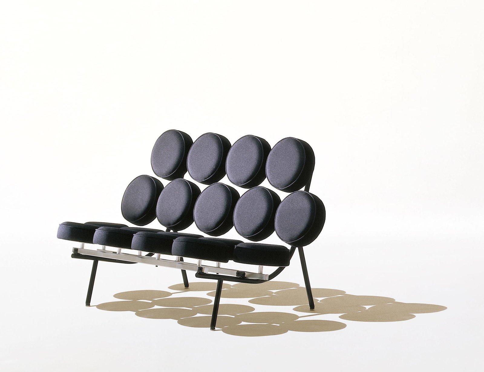Herman Miller Marshmallow Sofa Stunning Herman Miller Marshmallow  # Muebles George Nelson