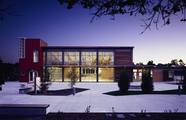 Chartwell School (exterior view) in Seaside, California, by EHDD Architecture. Photo by Michael David Rose.