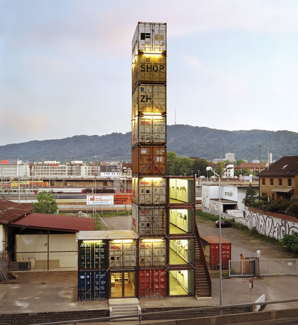 Shipping Containers by Dwell from Off to Switzerland
