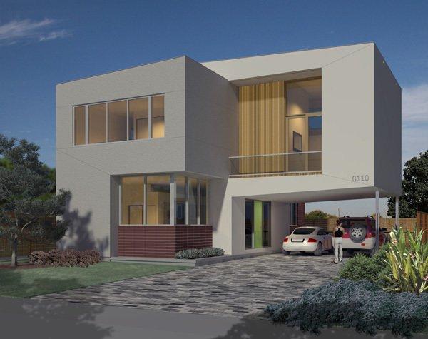 Binary House. Photo courtesy of Collaborative Designworks.