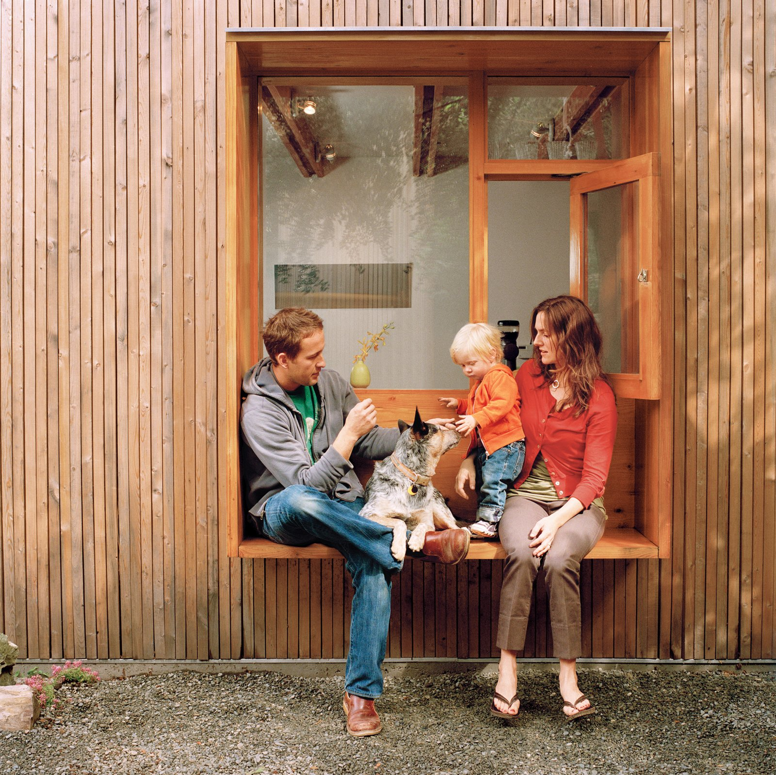 Tagged: Windows and Wood.  Dogs Who Love Modern Design by Brian Karo from Built-In Style