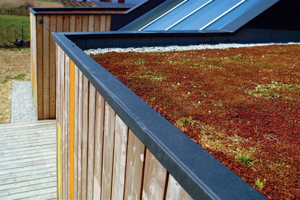 The garden-ready rooftop can provide additional insulation and soundproofing. Modern Efficiency and Affordability Don't Have to Come at the Expense of Style - Photo 3 of 3