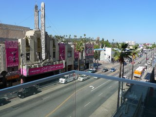 The W Hollywood Residences - Photo 5 of 10 - The view from Marty Collins' third-floor unit, looking east onto Hollywood Boulevard.