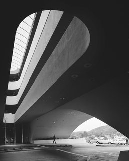 FLW: From Within Outward - Photo 1 of 4 - Ezra Stoller's photo of Wright's Marin County Civic Center is stunning still.