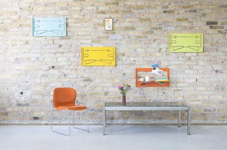 Piegato One shelves by Matthias Ries for MRDO products