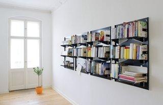 Piegato bookshelf by Matthias Ries for MRDO products