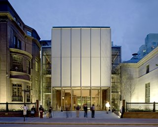 Renzo Piano's addition to the Morgan Library connects the mogul's Madison Avenue brownstone to his opulent private library. Photograph by Michel Denancé.
