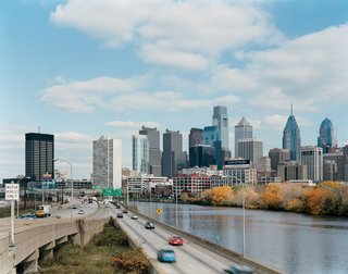 Philadelphia, PA - Photo 1 of 12 - Philadelphia rises above the banks of the Schuylkill River.