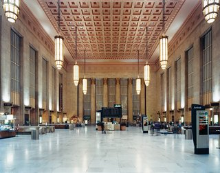 Philadelphia, PA - Photo 11 of 12 - Showing off a combination of Beaux-Arts and Art Deco styles, the 30th Street Station was designed in 1933.