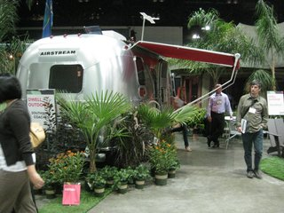Exhibition Snapshot: Dwell Outdoor - Photo 3 of 4 - Also set up at the exhibition is the nineteen-foot-long Airstream Victorinox Special Edition Trailer.