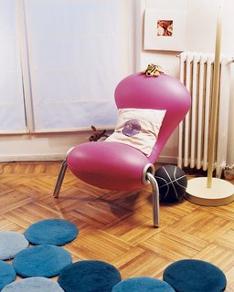 Like a Kid in a Candy Store - Photo 10 of 14 - The Marc Newson Embryo chair dates from 1988.