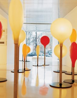 Like a Kid in a Candy Store - Photo 14 of 14 - At Krzentowski's Galerie Kreo, Diode lamps designed by Marc Newson have been produced in a limited edition of 18 pairs exclusively for an exhibition.