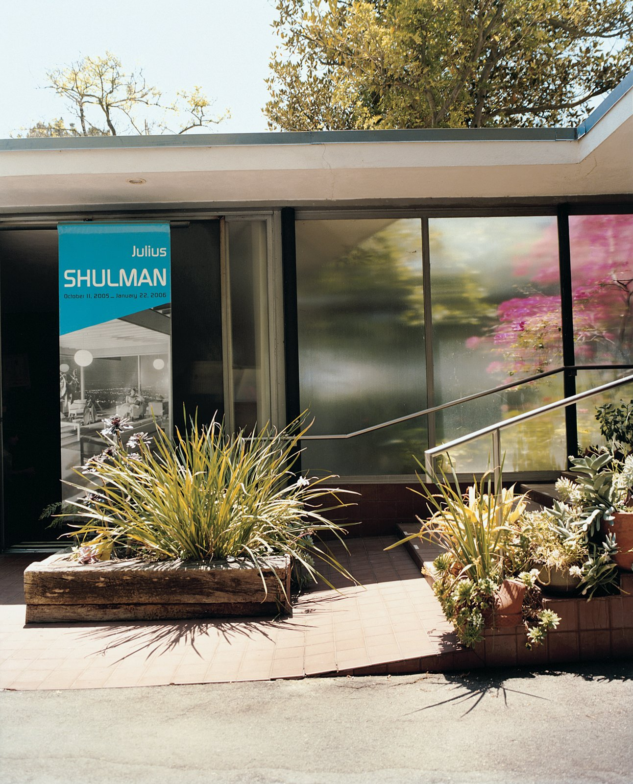 """I'm always identified as being the best architectural photographer in the world,"" declares Shulman. ""I disclaim that. I say, 'One of the best.'"" The photographer paid $2,500 for his two-acre property, and $40,000 for the Raphael Soriano–designed studio and house, into which he moved in 1950. ""All in cash,"" Shulman says. ""My mother taught us, 'Never have a mortgage.'"" Over the ensuing decades, he says, ""I planted hundreds of trees and shrubs, to emulate how I lived as a child [on a farm in Connecticut]."""