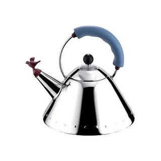 Alessi's Fall/Winter Collection - Photo 3 of 14 - Tea Kettle designed by Michael Graves for Alessi in 1985.