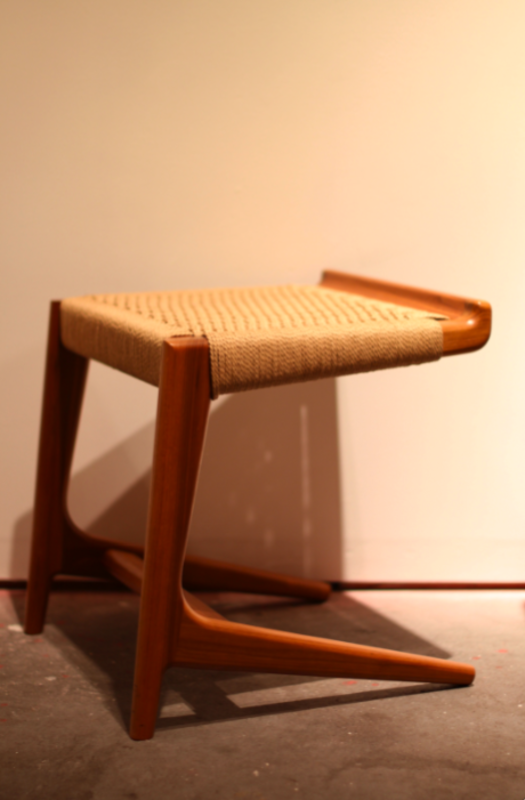 Semigood's Cantilevered stool from the Rian Collection is always a crowd favorite.