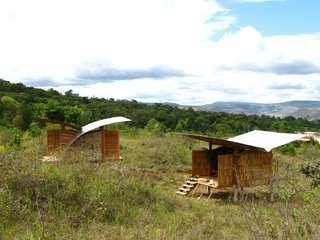 Venezuela's Eco Cabanas - Photo 13 of 13 - The first two cabanas to be built in Santa Elena will always stand as points of reference in projects the locals undertake in the future.