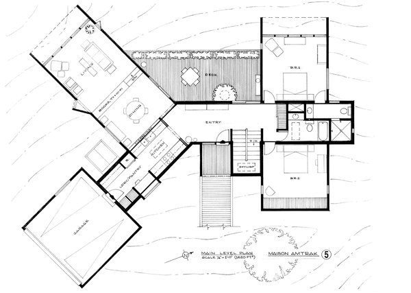 Architect peter cohen 39 s floor plans collection of 12 for Dwell house plans