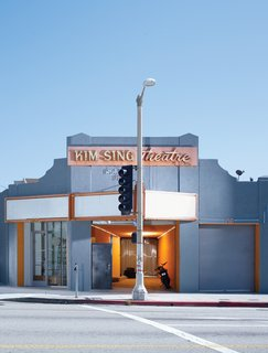 The old Kim Sing Theatre on North Figueroa Street, home to Ford&Ching. Photo by Jeff Minton.