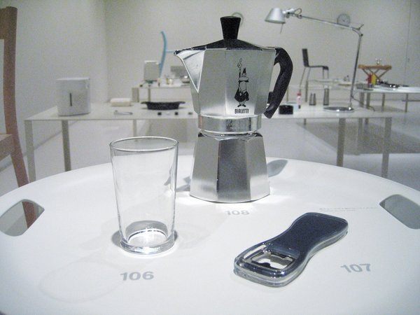 Objects from the Super Normal exhibit at twentytwentyone in 2006.