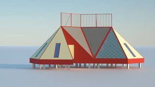 Mobile Cottages for Arctic Tourism - Photo 1 of 3 -