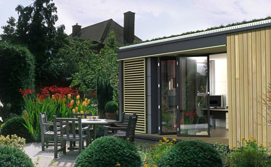 Tagged: Shed & Studio and Living Space.  Photo 1 of 4 in Pod Space Prefab Garden Sheds