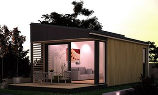 Pod Space Prefab Garden Sheds - Photo 3 of 4 -